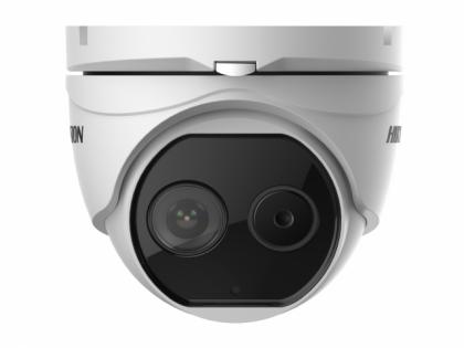Тепловизионная купольная IP-камера Hikvision DS-2TD1217B-6/PA